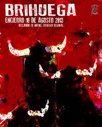 El riojano José Ángel Ligero gana el I Concurso de Carteles del Encierro de Brihuega 2013