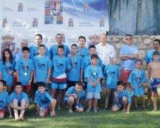 Balance positivo de las dos primeras jornadas del XXV Campeonato Interpueblos de Natación