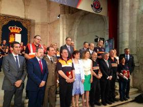 Cospedal recuerda a víctimas del fuego de Guadalajara en su octavo aniversario