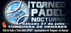 """El deporte del """"padel"""" cobra protagonismo este fin de semana en Yunquera de Henares"""