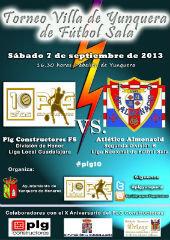 El PLG, ante el Almonacid de Segunda B en el Torneo Villa de Yunquera