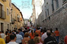 La procesión de la Recogida de la Cera, una tradición centenaria en Brihuega