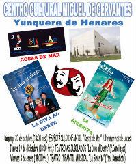 """""""Cosas de Mar"""", llega este domingo al Centro Cultural de Yunquera de la mano de la compañía alcarreña Ultramarinos de Lucas"""