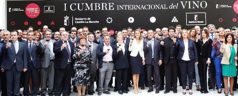 Cospedal presenta la Primera Cumbre Internacional del Vino