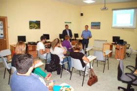 El Aula Medio ambiental de Yunquera acoge durante dos días talleres de como posicionar la pequeña empresa en el entorno web