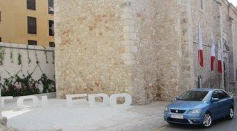 La capilla de Brihuega , marco excepcional para la presentación del nuevo Seat Toledo
