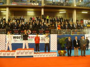 El Alcalde cifra en dos millones el consumo directo generado en Guadalajara durante el Mundial de Karate