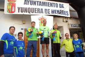 """Éxito de participación en la IV Carrera Popular """"Ruta de las Ermitas"""" en Yunquera de Henares"""
