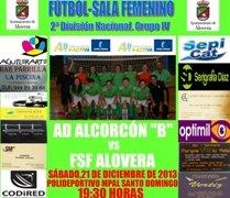 """Previa 12ª Jornada SDN:Alcorcon""""B"""" vs Alovera"""