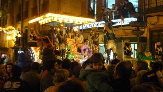 Los Reyes Magos acompañados de música en Albacete