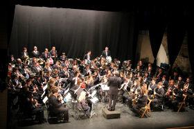 """La Asociación Musical Jadraqueña se hermana con la Banda Municipal de Música """"Santa Cecilia"""" en Ezcaray"""