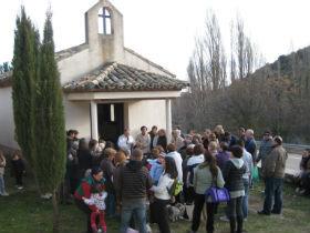 Gachas, migas, música y teatro en Pastrana para celebrar su patrón San Sebastián