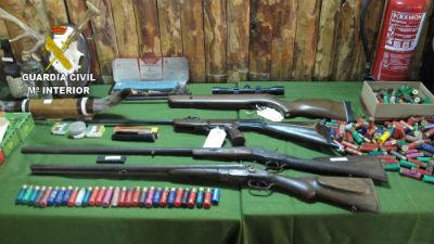 La Guardia Civil detiene a los dos autores de 33 robos cometidos en viviendas de 15 localidades de Guadalajara