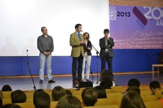 """Cerca de 500 alumnos, procedentes de 18 centros educativos de la provincia de Guadalajara, participan en la XVIII edición de """"El teatro viene de la escuela"""""""