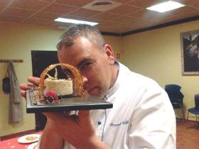 El cocinero y chef, vecino de Yunquera, Fernando Guillen Fernández estará en la final del XXI Certamen Gastronómico de la Comunidad de Madrid