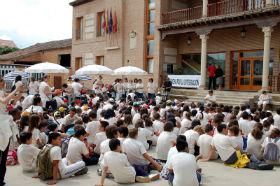 El colegio 'Virgen de la Granja' y el CADIG 'La Chopera' de Yunquera marcharán por la integración social de las personas con discapacidad por quinto año consecutivo