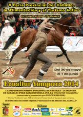 Todo listo para el arranque de la V Feria del Caballo, la Alimentación y el Turismo Activo de Yunquera