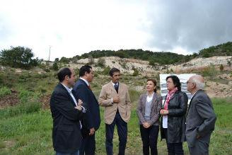 """Marta García en Guadalajara: """"El Ejecutivo regional dinamiza el sector minero porque es una actividad sostenible generadora de riqueza y empleo"""""""