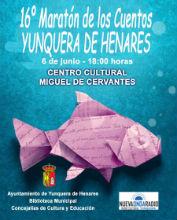 """El Maratón Viajero de los Cuentos llega a Yunquera en su 16ª edición bajo el título """"El Agua"""""""