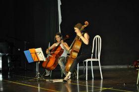 Los alumnos de la Escuela de Música de Alovera despidieron el curso por todo lo alto