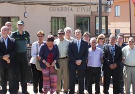 Juan Pablo Sánchez Sánchez-Seco se reúne con los alcaldes de la demarcación de los cuarteles de Atienza y Condemios