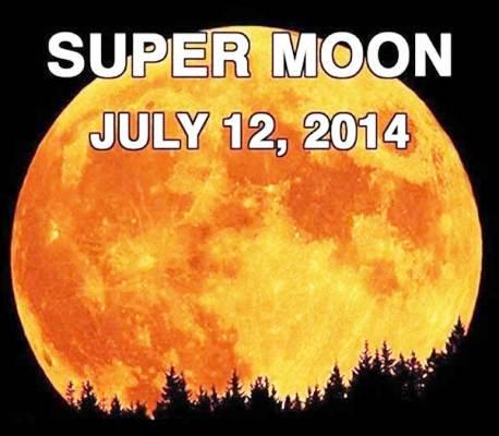 Esta noche mire al cielo porque hay una superluna llena for Que luna hay esta noche