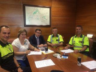 El Ayuntamiento de Alovera firma un Acuerdo en materia de Seguridad Vial