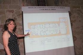 La AAISS presenta en Sigüenza el proyecto de Centro de Interpretación del Románico en el que se convertirá el monumento