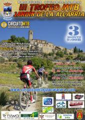El domingo 3 de agosto se celebra en Brihuega el III Trofeo MTB Jardín de la Alcarria, octava prueba del Circuito Diputación de Guadalajara