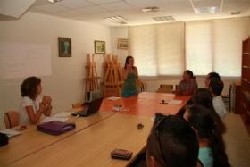 Charla sobre economía y ahorro domésticos en la Casa de la Cultura de Trillo