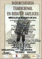 El miércoles 20 se abre en Riba de Saelices un ciclo sobre indumentaria tradicional