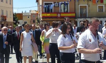 Multitudinario homenaje del pueblo de Brihuega a su patrona