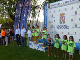 Brillante final del Campeonato Interpueblos de Natación disputada en Jadraque