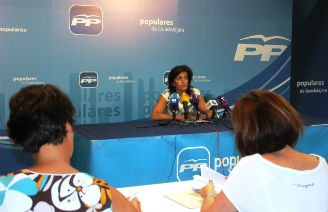 """González: """"La Presidenta Cospedal apuesta por un sistema educativo en el que nuestros jóvenes no encuentren actitudes machistas y retrógradas como las que ha exhibido el socialista Page"""""""