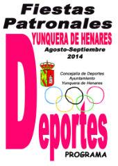 Los deportes dan el pistoletazo de salida a la programación de las Fiestas Patronales en Yunquera de Henares 2014