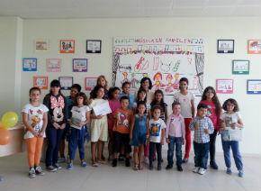 Un dibujo de Iván Aparicio, de 5 años, adornará el aula del progama Música en Familia