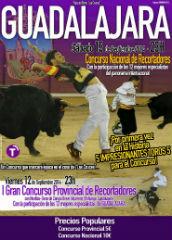 Esta noche se celebra el Concurso Provincial de Recortadores de Guadalajara