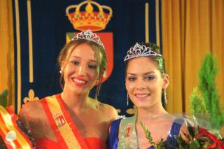 Yunquera corona a la reina y dama de sus fiestas patronales 2014