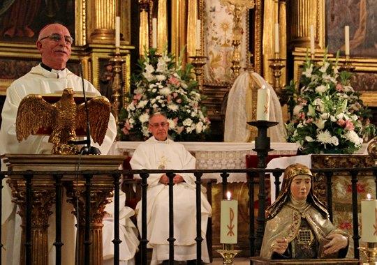 Inaugurado el Año Jubilar Teresiano en Pastrana