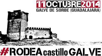 "Una cadena humana para ""rodear el castillo"" de Galve"