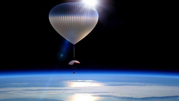 Lo último de lo último : Esparcir las cenizas en la estratosfera
