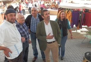 Condado participa en la Ferias Tradicionales de Cifuentes
