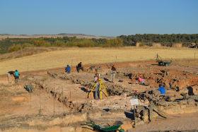 Finaliza la campaña de excavaciones en el Parque Arqueológico de Recópolis