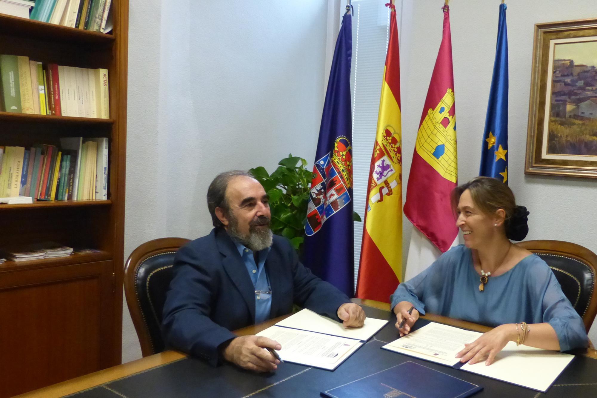 """Guarinos: """"Tenemos que seguir aprovechando las oportunidades de desarrollo económico que ofrece la Comarca de Molina de Aragón"""""""