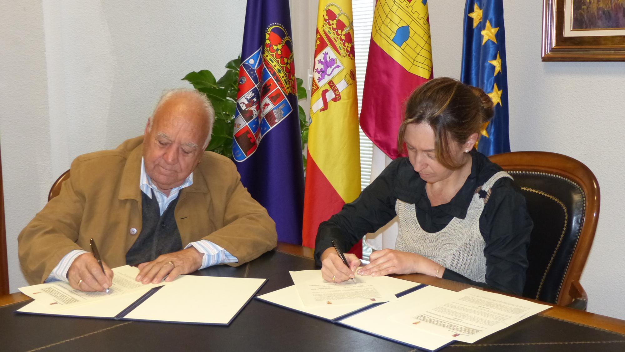 La Diputación reafirma su compromiso con Recópolis como reclamo turístico y motor de desarrollo de la zona