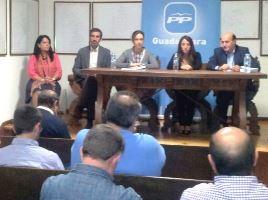 """Ana Guarinos: """"Con Rajoy y Cospedal el Parador de Molina pronto va a ser una realidad"""""""