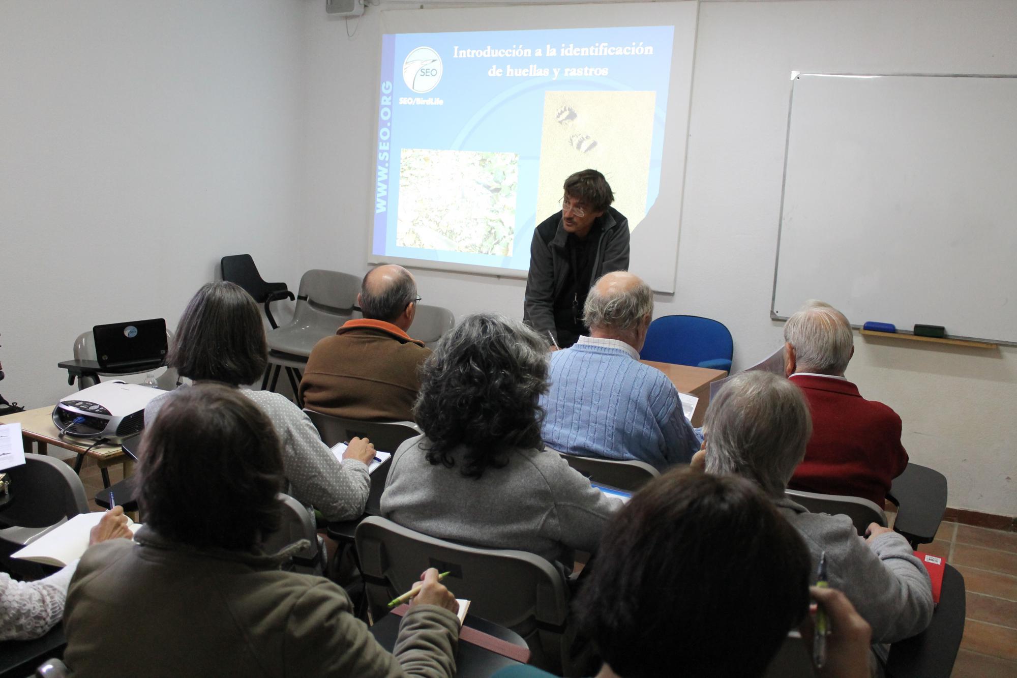 El Geoparque molinés acoge un curso de identificación de fauna y aves de la SEO BirdLife