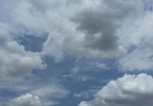 Siguen bajando las temperaturas este domingo nublado con el mercurio en los 20ºC