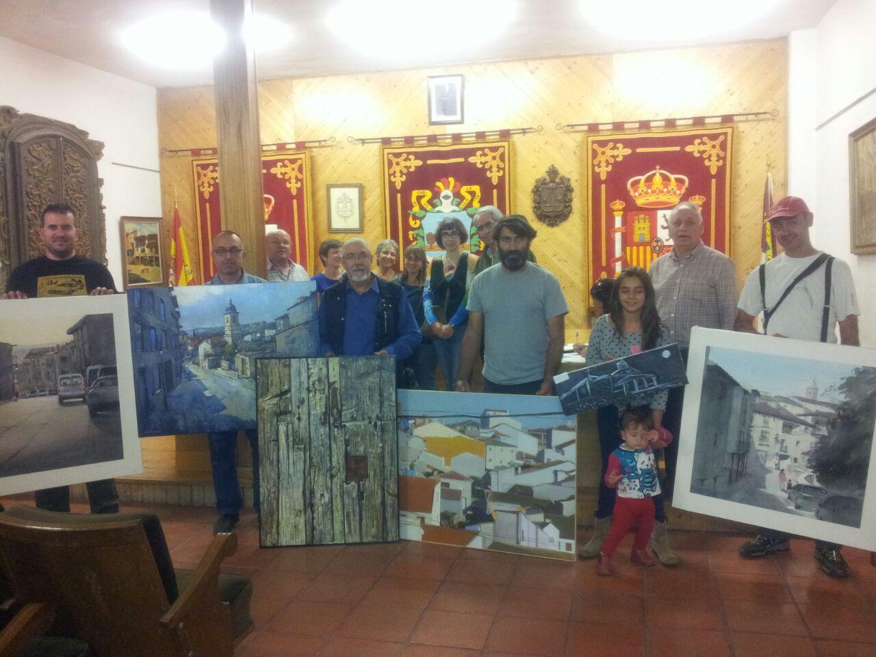 Alberto D. Fernández Hurtado vence en el Certamen Internacional de Pintura Rápida de Horche