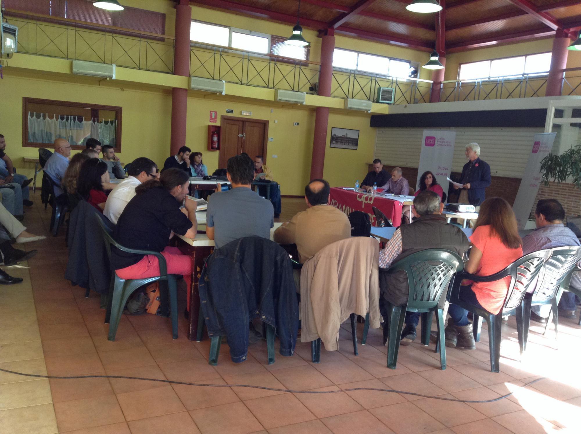 UPyD celebra en Cabanillas del Campo un curso de Formación de Concejales con una treintena de